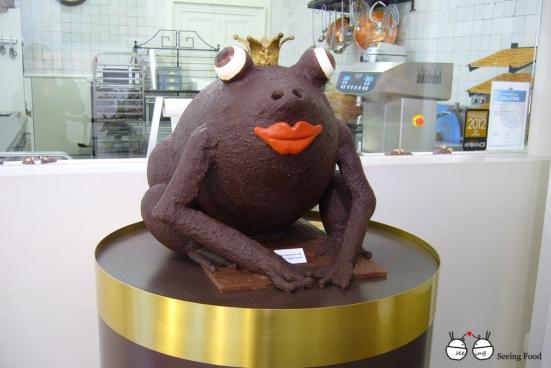 Chocolate frog prince